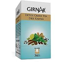 Home Breads Girnar Detox Green Tea - 36 Teabags (Pack Of 2)