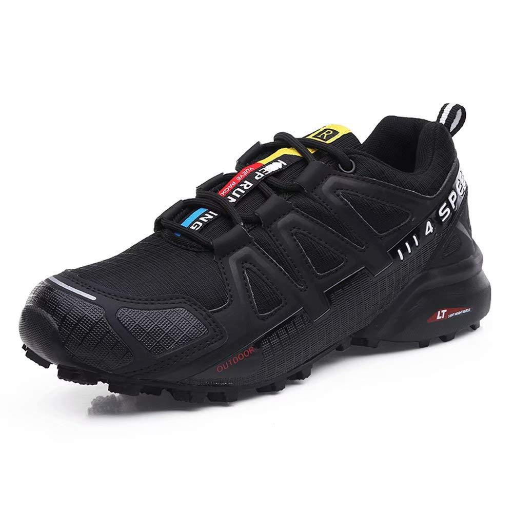 Zapatillas Trekking Hombre Zapatillas Senderismo Transpirable Antideslizante Al Aire Libre Zapatillas de Deporte