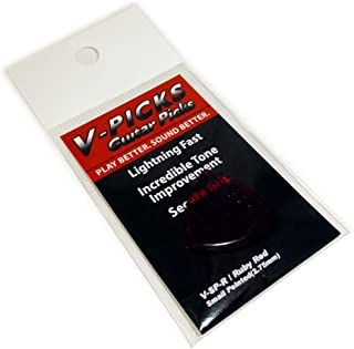 product image for V-Picks Small Pointed Ruby Red