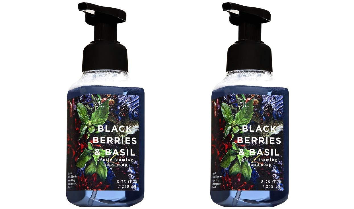 Amazon Com Bath And Body Works Blackberry Amp Basil Shower