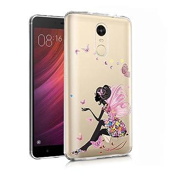 ocketcase Xiaomi Redmi Note 4 Funda, TPU Carcasa Suave Silicona Flexible Gel Funda Resistente a los Arañazos Tapa Protectora Case Cover para Xiaomi ...