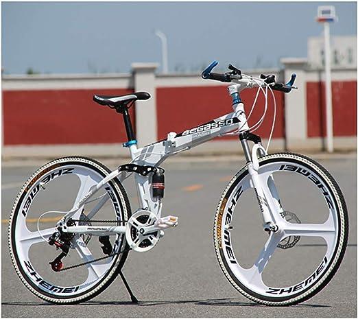 Link Co Bicicleta de montaña Plegable 26 * 17 Pulgadas Velocidad ...