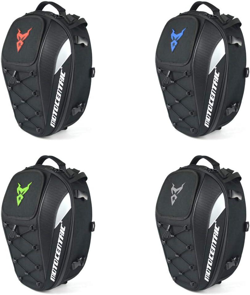 Dual Use Motorradrucksack wasserdichte Gep/äcktaschen Aufbewahrungstaschen f/ür Motorrad-Helmtaschen Motorrad-Sitztasche Hecktasche