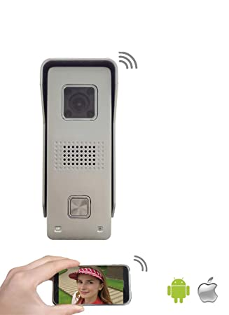 Wlan Tursprechanlage Mit Zugriff Per Smartphone Amazon De Elektronik