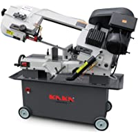 "KAKA Industrial Metal Cutting Horizontal Band Saw 7"" x 12"" Capacity 1.5HP motor"