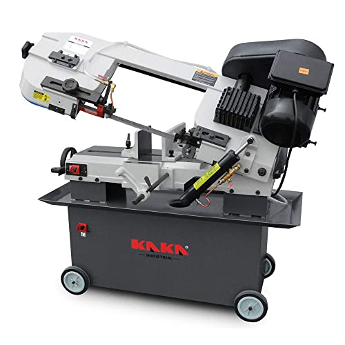 KAKA Industrial Metal Cutting Horizontal Band Saw 7 x 12 Capacity