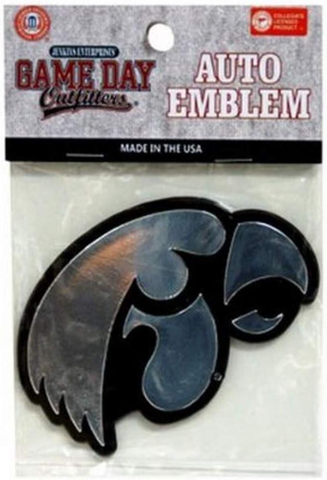 NCAA Iowa Hawkeyes Car Emblem