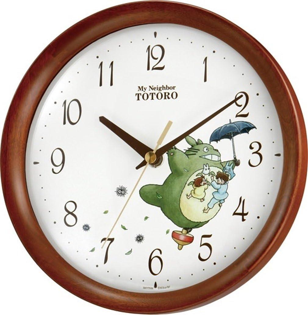 Max 41% OFF Rhythm Clock My Ranking TOP2 Neighbor M27 Totoro 8MGA27RH06