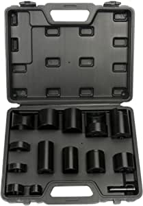14PC MASTER BALL JOINT ADAPTOR KIT FORD GM DODGE 2 or 4 WHEEL INSTALLER REMOVER