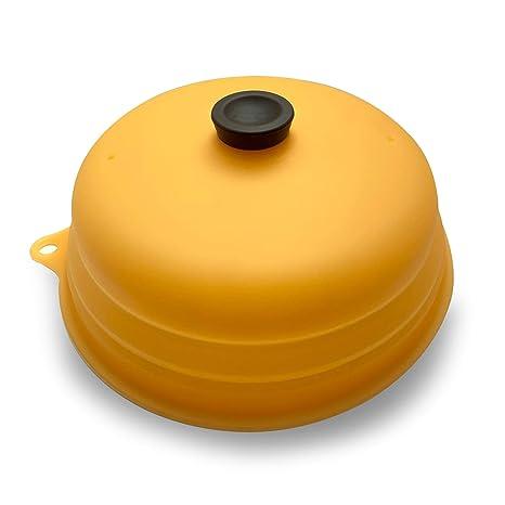 Amazon.com: Cubierta de silicona para platos de microondas ...