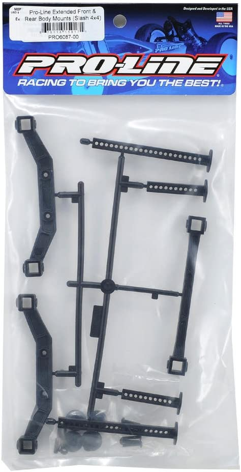 Pro-Line Racing 608700 Extended Front and Rear Body Mounts for Slash 4 x 4