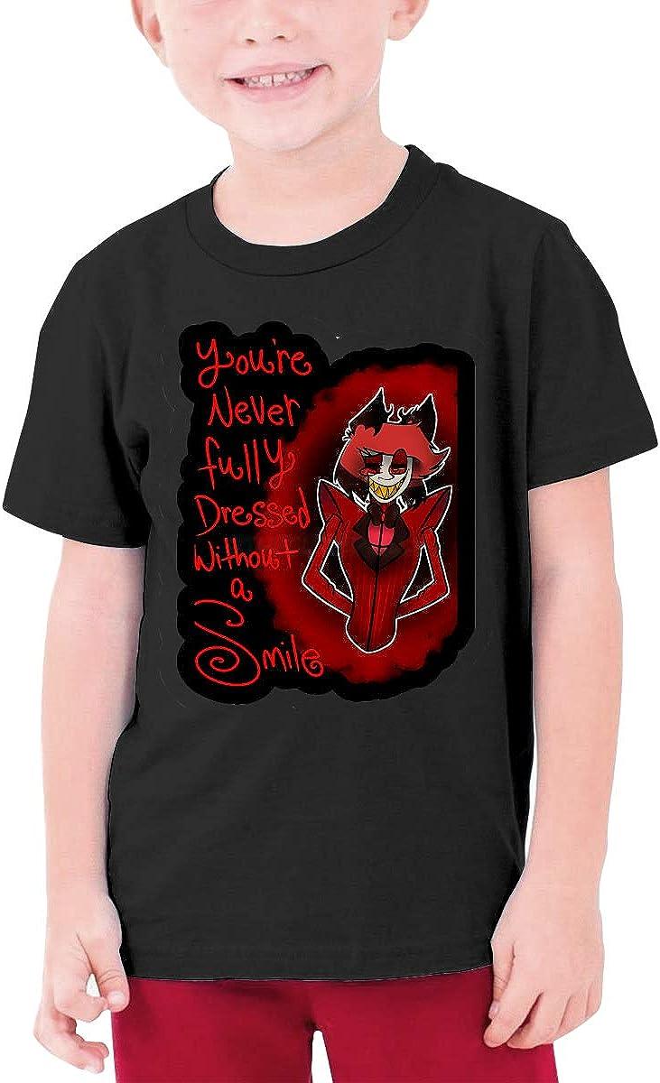 B082156C8V LuoHeShiYuanHuiQuBuShengBaiHuoDian Vivziepop YouTube Teen T-Shirt Black 61sUROgN6ZL