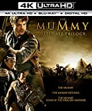 The Mummy Ultimate Trilogy (The Mummy (1999) / The Mummy Returns / The Mummy: Tomb of the Dragon Emperor) (4K Ultra HD + Blu-ray + Digital HD)