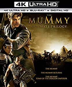 The Mummy Ultimate Trilogy (4K Ultra HD + Blu-ray + Digital HD)