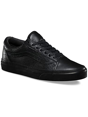Vans Womens Square Perf Old Skool DX Leather Trainers  Amazon.co.uk ... 17116a1bf