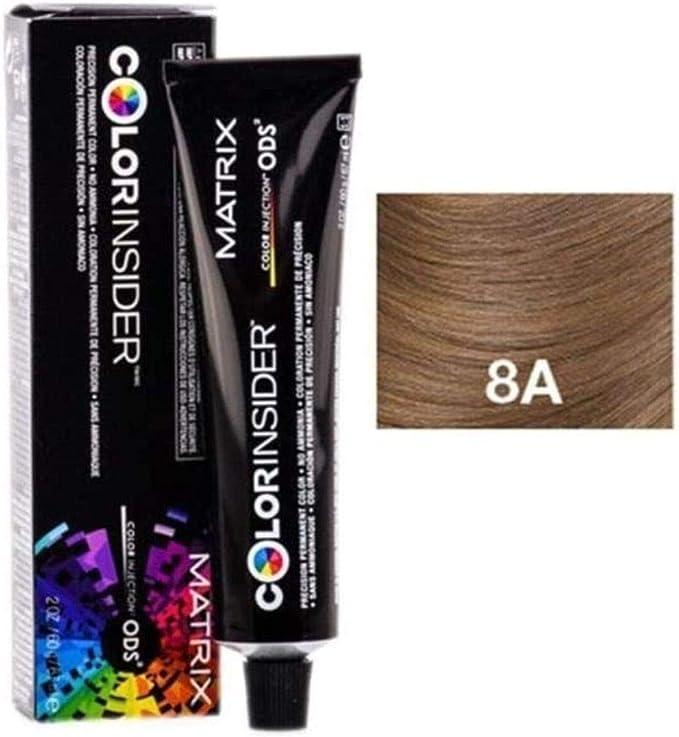 Matrix Color Insider Tinte Capilar sin Amoniaco 8A - 60 gr