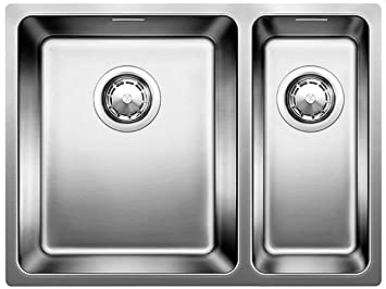 blanco andano 340/180-u unterbaubecken edelstahl spüle spülbecken ... - Spülbecken Küche Edelstahl