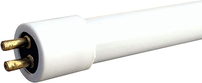 2 X Leyton 10w T4 fluorescent tube warm white 3400K 352mm inc pins 338mm exc pins CHECK LENGTH CAREFULLY