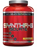 BSN SYNTHA-6 ISOLATE Protein Powder, Whey Protein Isolate, Milk Protein Isolate, Flavor:  Peanut Butter Cookie, 48 servings