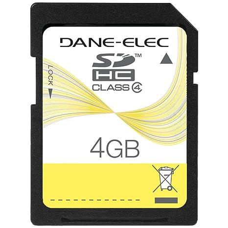 Amazon.com: Duracell tarjeta de memoria SD de 4 GB (du-sd ...