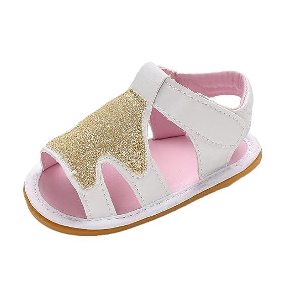 Suela Caucho Niña Verano Dura De Sandalias Zapatos Con Auxm Bebe N0m8Onvw