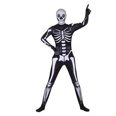 Amazon.com: Poptrend Disfraz de Halloween de Spandex Zentai ...