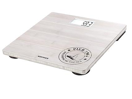 Soehnle 63845 - Bascula de bano digital, color blanco