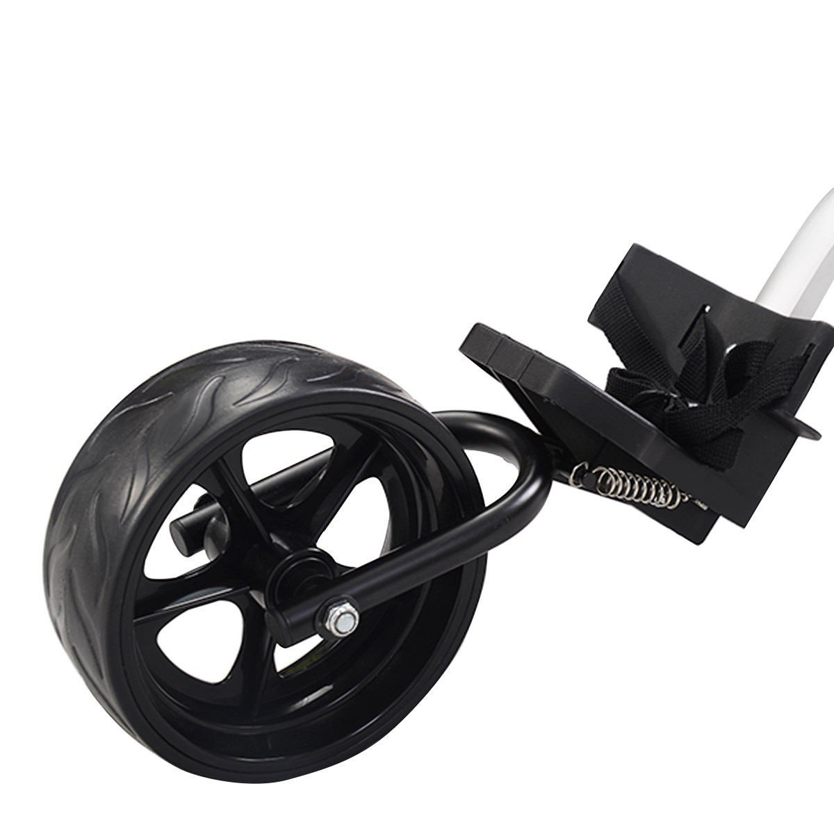MD Group Golf Cart Push Trolley Pull Wheel Foldable Club Swivel Holder Lightweight Aluminum by MD Group (Image #6)
