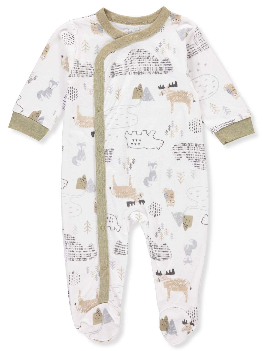 Rene ROFE Baby Boys' Footed Coverall Bon Bebe