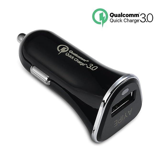 Carga rápida 3.0, ayipe USB cargador de coche para iPhone ...