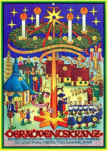 Der Adventskranz: Adventskalender