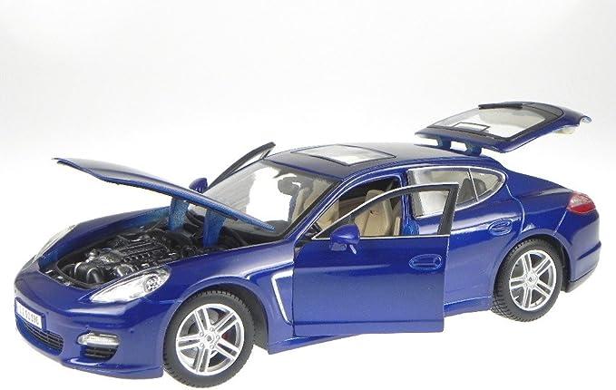 Porsche Panamera Turbo Blau 36197 Model Car 1 18 Scale Spielzeug