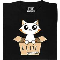 getDigital Schrödinger's Cat Glow in The Dark Skeleton T-Shirt - Regular