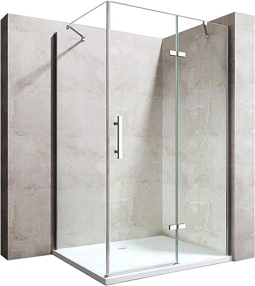 durovin baño RAVENNA 28 sin marco Bisagra pivotante mampara de ...