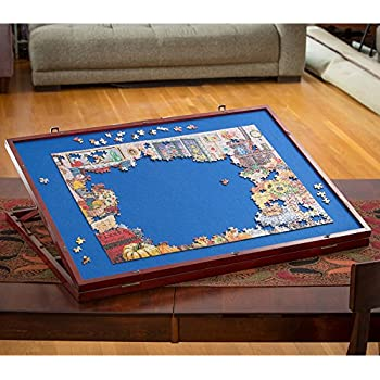 Amazon Com Bits And Pieces Wooden Fold And Go Jigsaw