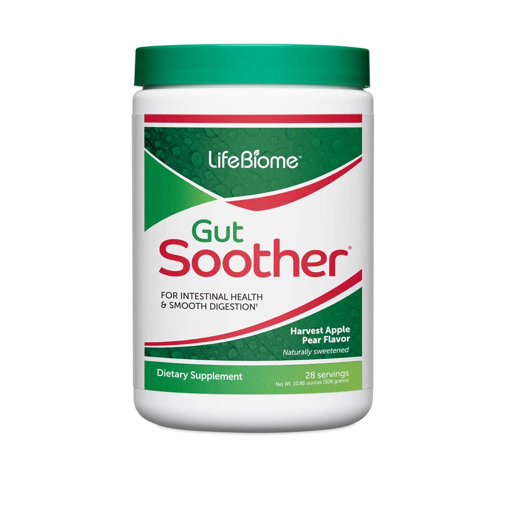 Dr. Drew Sinatra's LifeBiome Gut Soother Provides Soothing Relief from Occasional Stomach Upset and Discomfort (28-Day Supply) by Dr. Drew Sinatra