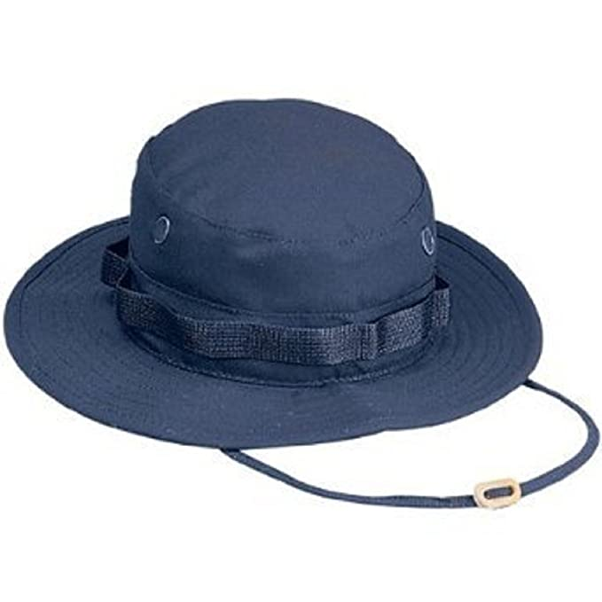 Amazon.com  5826 Navy Blue Boonie Hat (Size 7.25)  Military Apparel ... 39c28beed7