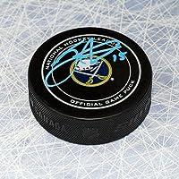 $79 » Jack Eichel Buffalo Sabres Autographed Official NHL Game Puck - Autographed NHL Pucks
