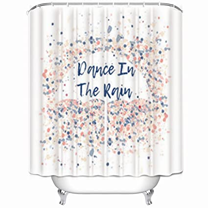 Image Unavailable Not Available For Color Alfredon Shower Curtains Dance