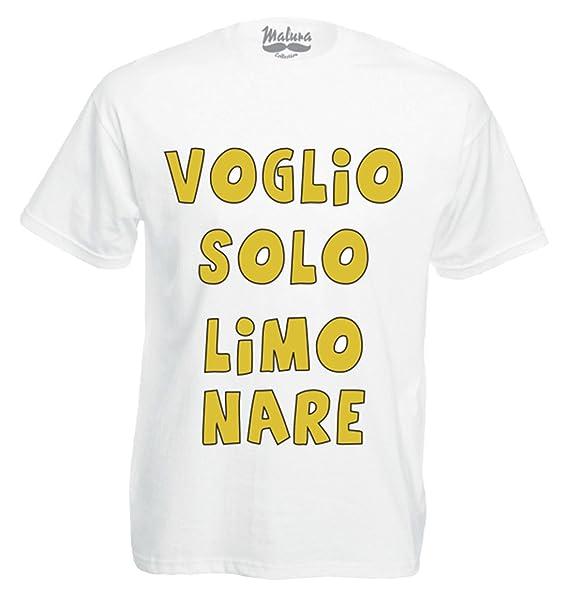 LimonareAmazon Maglietta Voglio itAbbigliamento Solo Stampa XnkP80Ow
