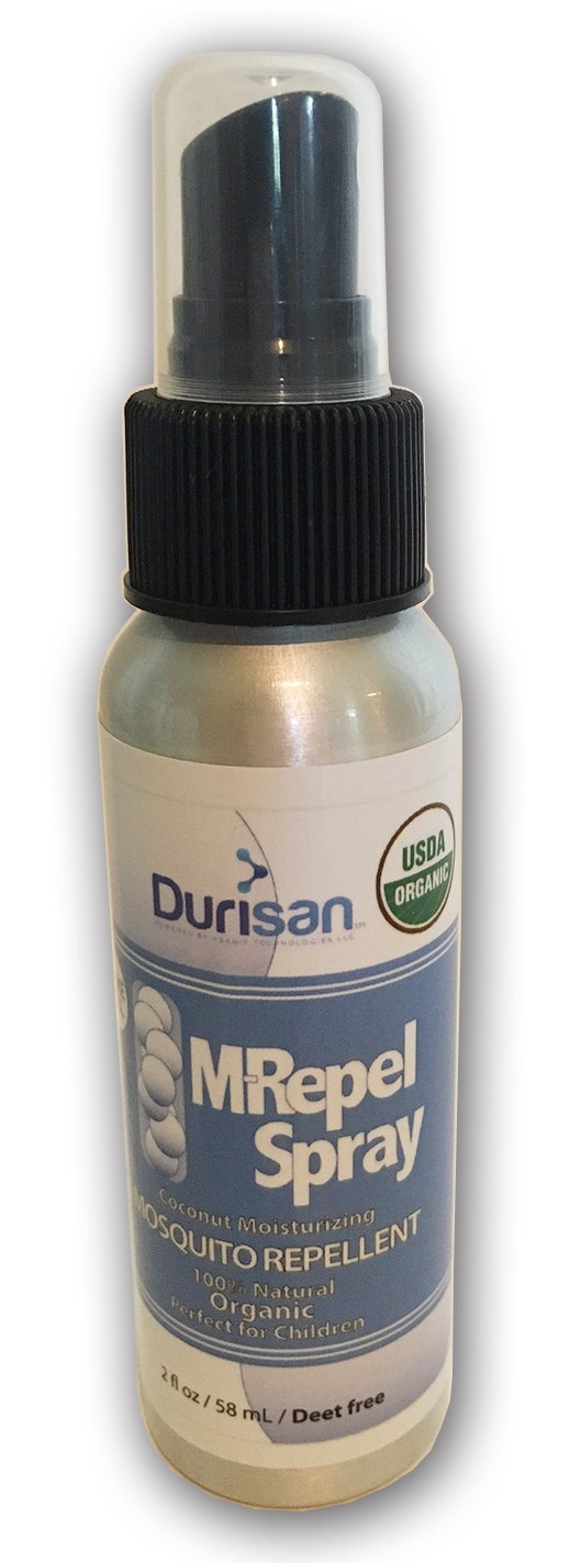Durisan Mosquito Repellent Spray USDA Organic 2 oz Bottle - 12 Pack Case by Durisan