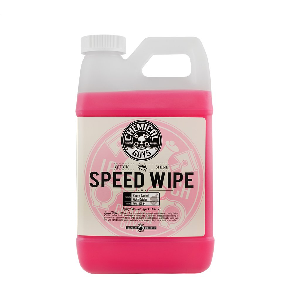 Chemical Guys WAC_202 Speed Wipe Quick Detail Spray (64 oz), 64. Fluid_Ounces