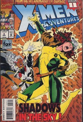 X-Men Adventures : Shadows in the Sky : April 3, 1994, Volume 2, Number - X-men Adventures