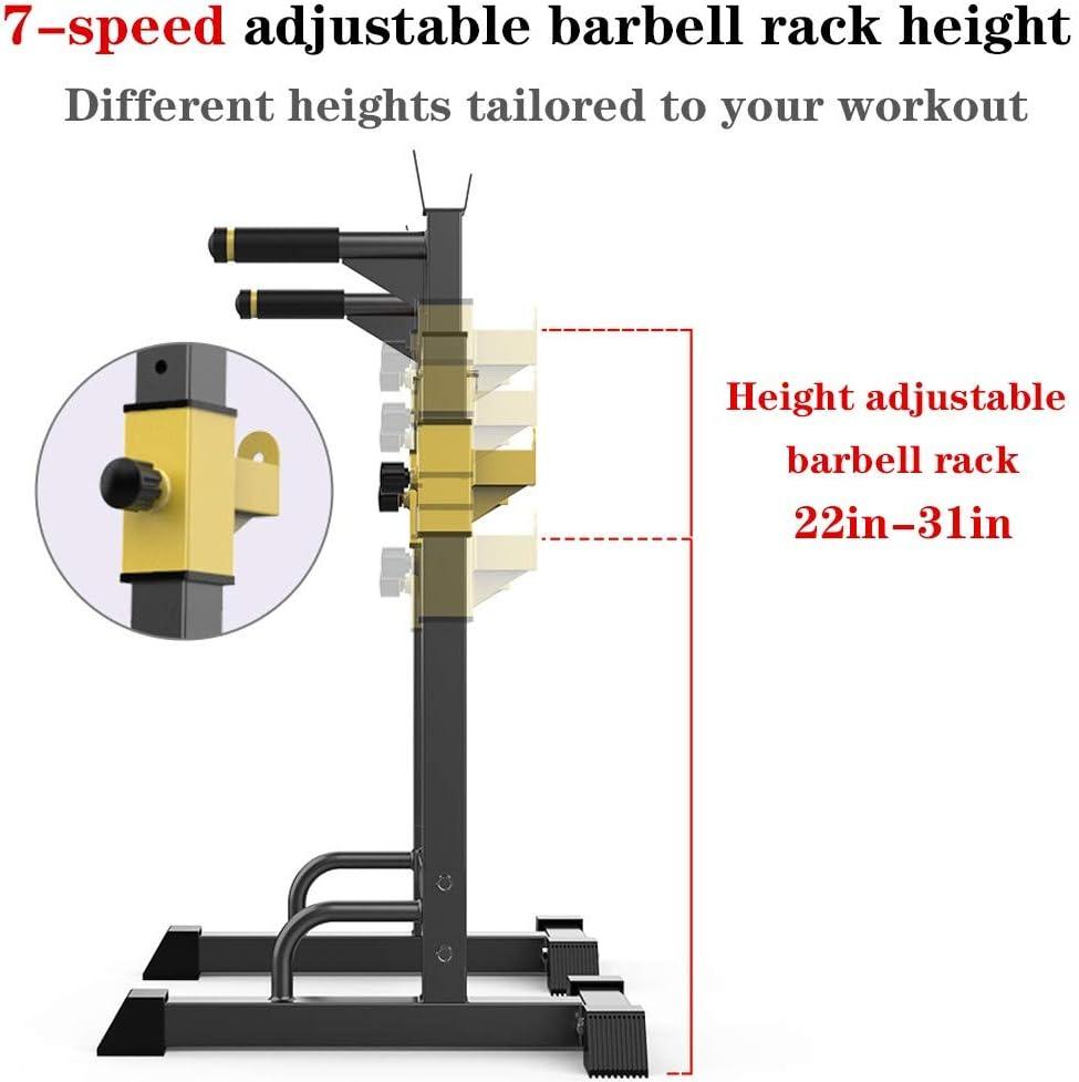 wavsurf Adjustable Squat Barbell Rack Immersion Station Max 551lbs
