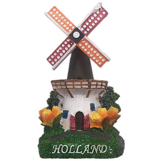 Weekinglo Souvenir Molino de Viento Holanda Holanda Imán de Nevera ...