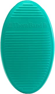 TheraBand Stability Trainer Pad, Beginner Level Green Foam Pad, Balance Trainer & Wobble Cushion for Balance & Core Strengthening, Rehabilitation, Physical Therapy, Round Sport Balance Trainer