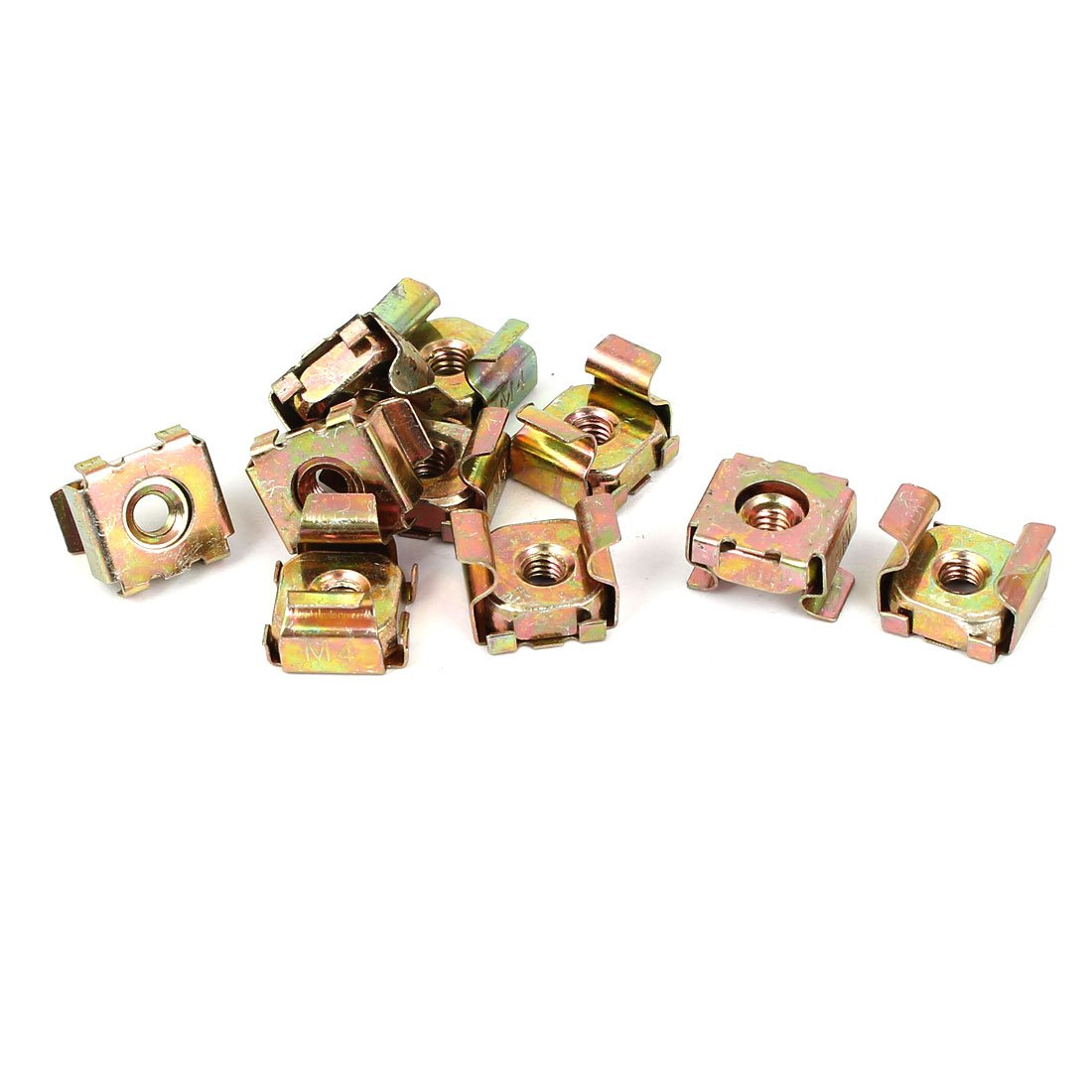 Nuts Square Square Zinc M4 X 0.7-24560140