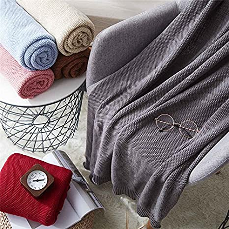 WDDH Air Conditioning Cool Throw Blankets,Cotton Muslin Breathable Summer Thin Quilt Lightweight Couch//Sofa//Bed Gifts Toddler Adults
