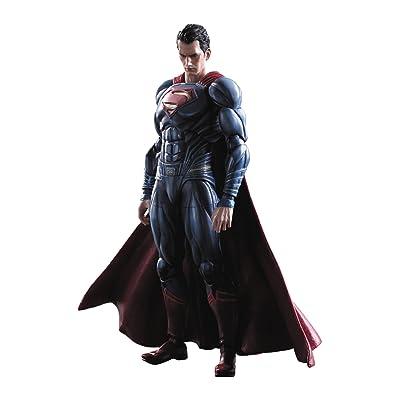 Square Enix Batman v Superman: Dawn of Justice: Play Arts Kai Superman Action Figure: Toys & Games