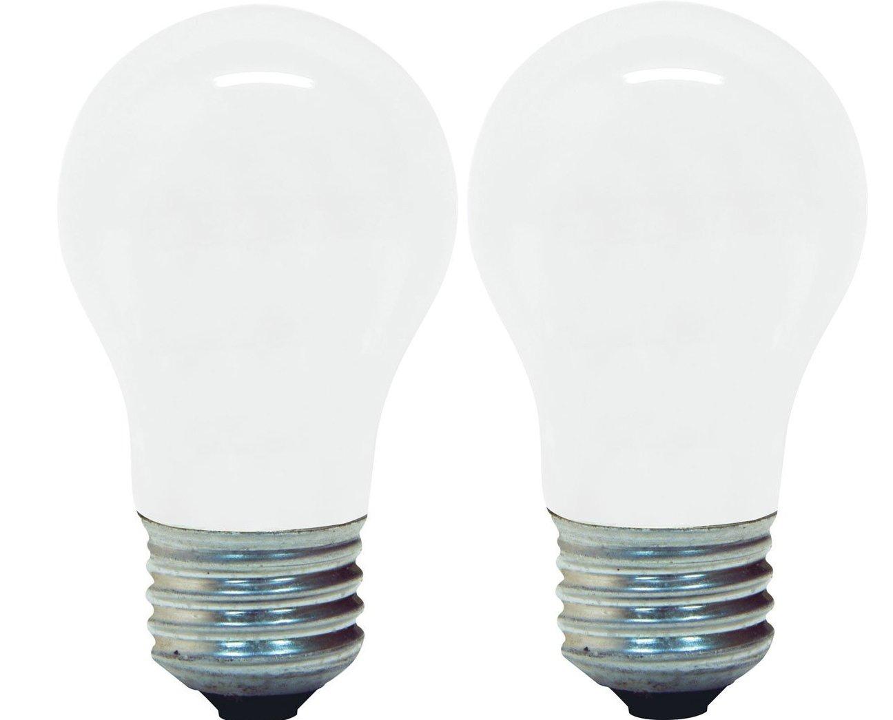 GE Lighting 12658 15-Watt 100-Lumen General Purpose A15 Incandescent Light Bulb